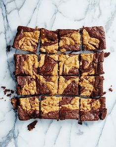 Vegan Peanut Butter Brownies by Isa Chandra