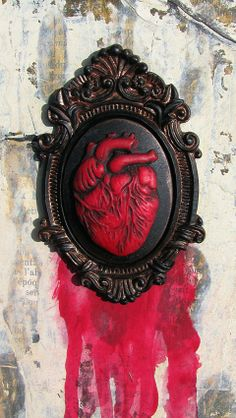detail of bleeding heart (by alicia caudle): http://alteredbits.com/alicia-caudle-art.php