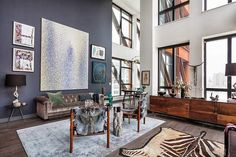 [Interior] Una estética en cemento y acero en un loft en Brooklyn | Decoración