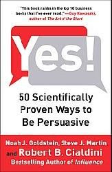 Excerpt of 5 scientific proven ways to be persuasive. Don't know if Overstock.com still carries the book or not.