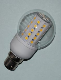 """Also known as """"corn-style bulb"""" or """"corn on the cob"""", this 6.5W LED GLS bulb offers the best of both LED technology and classic incandescent features. A perfect replacement for 65W traditional light bulb, our 6.5w LED GLS bulbs let you enjoy diffuse, high-quality lighting output while reducing power consumption by 88%!"""