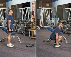 Bill Phillips' 5-25 lower body workout