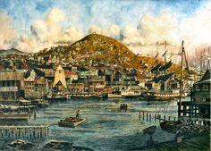 The New Arrivals: San Francisco Yerba Buena Cove  by Stanton Manolakas on ARTwanted