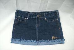Women's Dark Blue Denim Mini Skirt ~ Basic Denim ~ Size 1 #BasicDenim #Mini
