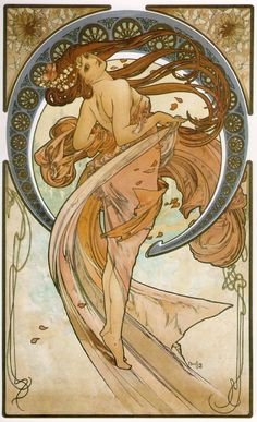 by Alphonse Mucha - My favorite artist <3