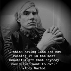 warhol quotes - Google Search