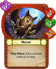 Meowl - Catamancer - The 100% cat themed game! - Artist: Eric Proctor (TsaoShin)