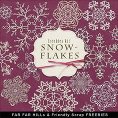 New Freebies Winter Kit of Snowflakes