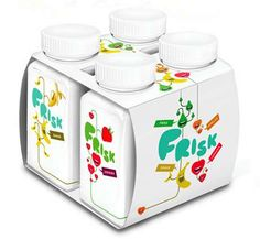 jeksel frisk yogurt packaging - The Jeksel Frisk Yogurt packaging may have been designed to win over children, but I must say I'm quite enticed by the creamy fruit-flavored d...