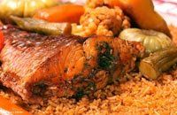 Ceebu jen (Red fish rice) from Senegal Gambian Food, Senegalese Recipe, Gourmet Recipes, Cooking Recipes, Cake Recipes, West African Food, Eat To Live, Popular Recipes, Love Food