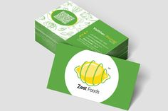 Zest Foods - Catering Identity By Creative Demonz.