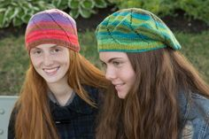 Swirl Hats in Liberty Wool Light - free PDF download