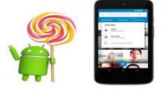 Google actualiza a Android 5.1, con protección extra para dispositivos robados