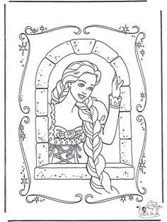 frau holle als märchenbild - malvorlagen für kinder | coloring | pinterest | kindergarten, fairy