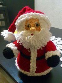 31 Creative Ideas for Christmas knitting crochet Crochet Santa, Christmas Crochet Patterns, Christmas Knitting, Crochet Dolls, Diy Christmas Videos, Christmas Crafts, Free Crochet Bag, Knit Crochet, Pinterest Crochet