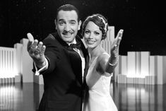 'The Artist's' Jean Dujardin, Berenice Bejo to Receive the Santa Barbara Film Festival's Cinema Vanguard Award Jean Dujardin, Oscar 2012, Oscar Night, The Artist Movie, Artist Film, Great Films, Good Movies, Film Fantastic