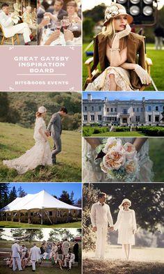 Great #Gatsby #Wedding Inspiration