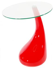 Mod Space Age Dining Table (Red)