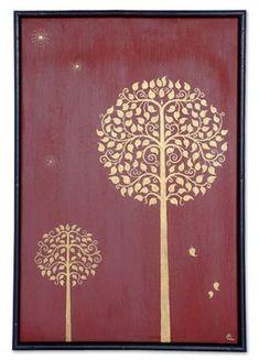Worli Painting, Fabric Painting, Traditional Paintings, Traditional Art, Thai Pattern, Bodhi Tree, Madhubani Art, Indian Folk Art, Thai Art