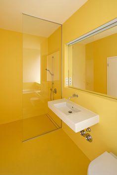 Bad : Minimalistische Badezimmer von studioinges Architektur und Städtebau