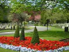 Pauline's Flowers - Mill Hill Cemetery, London.  -  Buriel place of Billy Fury.