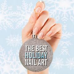 "Fact: Your nail art will come out better if you do it while listening to Mariah Carey's ""All I Want for Christmas Is You."""