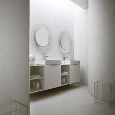 Kartell by Laufen / ludovica+roberto palomba Contemporary Modern Furniture, Interior Styling, Bathroom Inspiration, Kartell, Bathroom Mirror, Bathroom Sets, Contemporary Bathroom Accessories, Mirror, Contemporary Bathroom