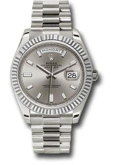 Rolex Watches: Day-Date 40 White Gold 228239 sbdp