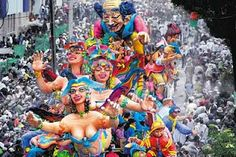 El carnaval de negros y blancos en Pasto