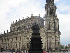 dresde Notre Dame, Barcelona Cathedral, Building, Travel, Dresden, Germany, Voyage, Buildings, Viajes