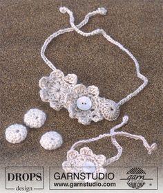 Virkade smycken ~ DROPS Design