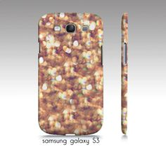 Samsung galaxy S3 iphone 44s caseglitter and by VintageChicImages, $35.00
