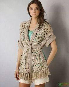 Mi baúl de Inspiraciones : Suéter de verano con patrón incluido