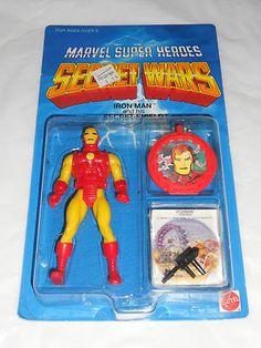 Original Marvel Secret Wars Iron Man U | eBay