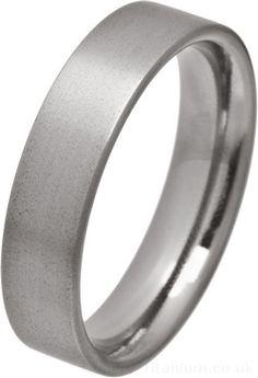 Ti2 Ellipse 6mm Comfort Fit Titanium Ring