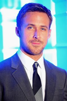 Ryan Gosling shows off a tie that is conservative without being boring.