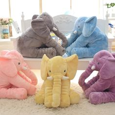 Cheap plush toys, Buy Quality elephant plush toy directly from China cushion doll Suppliers: 40 cm Baby Crib Elephant Plush Toy Colors Option Stuffed Elephant Pillow Newborn Cushion Doll Bedding For Adults Kids Toys Elephant Baby Bedding, Elephant Plush Pillow, Elephant Cushion, Kids Sleep, Baby Sleep, Plush Dolls, Doll Toys, Children's Toys, Elephant Peluche