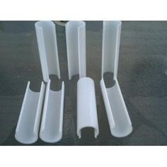 Amazon.com: Snap Clamp 1/2 Inch X 4 Inches Wide For 1/2 PVC Pipe White 10 per Bag: Patio, Lawn & Garden