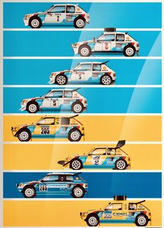 Europe Car, Custom Muscle Cars, Porsche Carrera, Car Drawings, Rally Car, Peugeot 205, Courses, Vespa, Fast Cars
