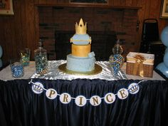 Prince It's a Boy Banner royal baby shower prince by NiuDesigns