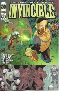 Invincible #93 Robert Kirkman Ryan Ottley Walking Dead ---> shipping is $0.01 !!!