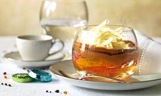Lebkuchenmousse mit Orangen-Grapefruitsalat - Rezepte - Schweizer Milch Orange, Grapefruit, Panna Cotta, Pudding, Sweets, Ethnic Recipes, Desserts, Food, Fruit Salad