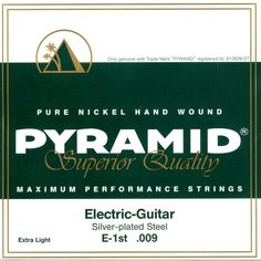 Buy Discount Pyramid Maximum Performance Pure Nickel Hand Wound Electric Guitar Strings On Sale Online and Save