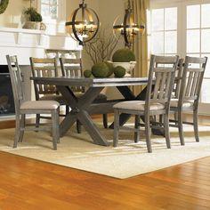 Powell Furniture Turino 7 Piece Dining Set