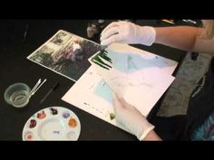 Alcohol Ink - Beginning Ink Painting online class by Karen Walker