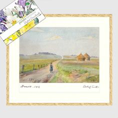 23th Sept 1916 Watercolour Painting,France WW1 Printable Art, Instant Download, Archer L Smith 1879 – 1943, Wall Art, Classic Art, Picture Fine Art Prints, Framed Prints, Luxury Card, Thing 1, Hanging Art, Archer, Printing Services, Art Pictures, Printable Art