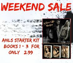 THE SALE ENDS TOMORROW - We put the STARTER KIT on for the book signing in Carolina, so be sure to grab your copy of this if you have not!! . Like Dirty and Dark? Tori is on one hell of a ride... Raised by bikers, hunted by drug lords, and used by the FBI, she survived hell to get her New Life!!!  . Starter Kit (books 1-3) for only $2.99 - hyperurl.co/c0qmtb