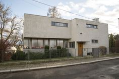 Maison Palička (1931-1932) Na Babě 9  Osada Baba, Prague. Architectes : Mart Stam et Jiří Palička ©GB.