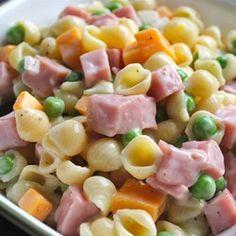 Ham and Shell Salad Allrecipes.com