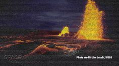 Volcanisme ancien sur la Lune